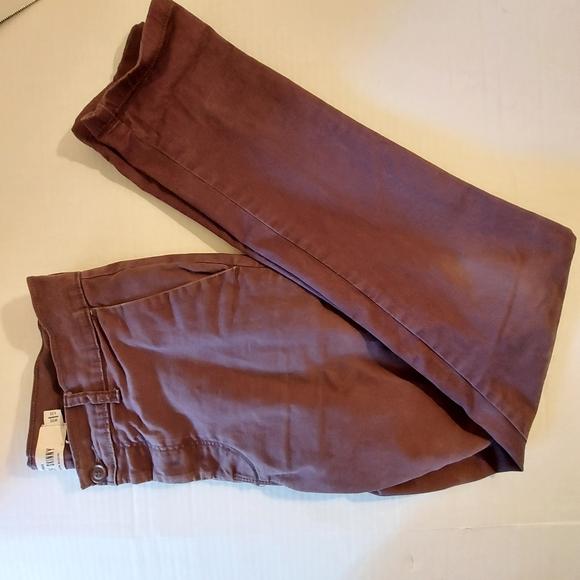 Topman 32x32 Stretch Skinny Plum Jean's
